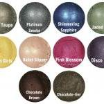 Mineral eyeshadow samples- Pick 5 c..