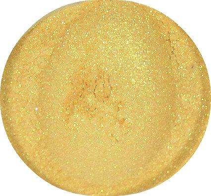 Gold Eyeshadow, mineral eye shadow, mineral powder makeup, loose powder eye shadow, all natural makeup, CIJ SALE