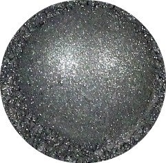 Mineral Eye shadow - Platinum Smoke color, gray eyeshadow, mica pigment, gray eyeshadow for brown eyes, loose mineral makeup, CIJ SALE