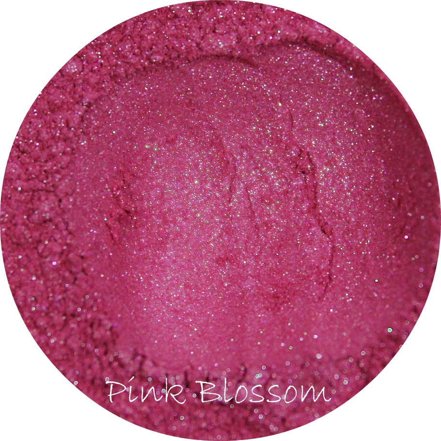 Mineral Eye Shadow Pink Blossom Color Hot Eyeshadow Natural Cosmetics Mica Pigment Make Up